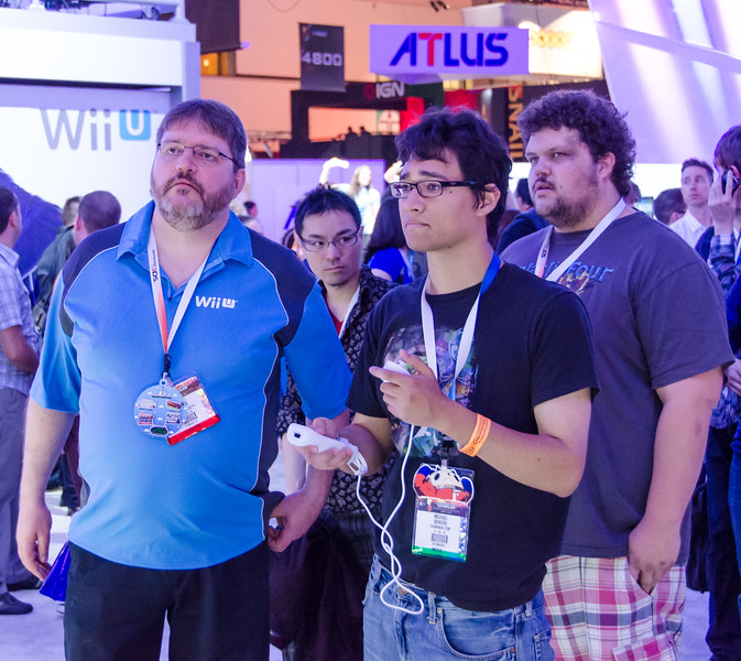 Gamers at E3 2012