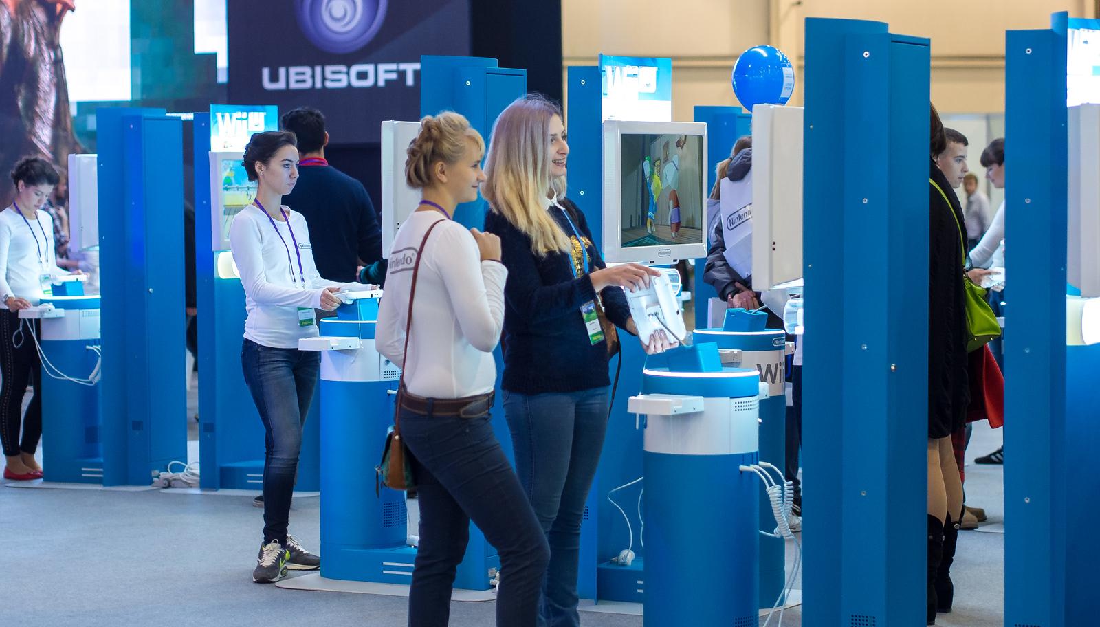 Nintendo booth at Igromir 2013