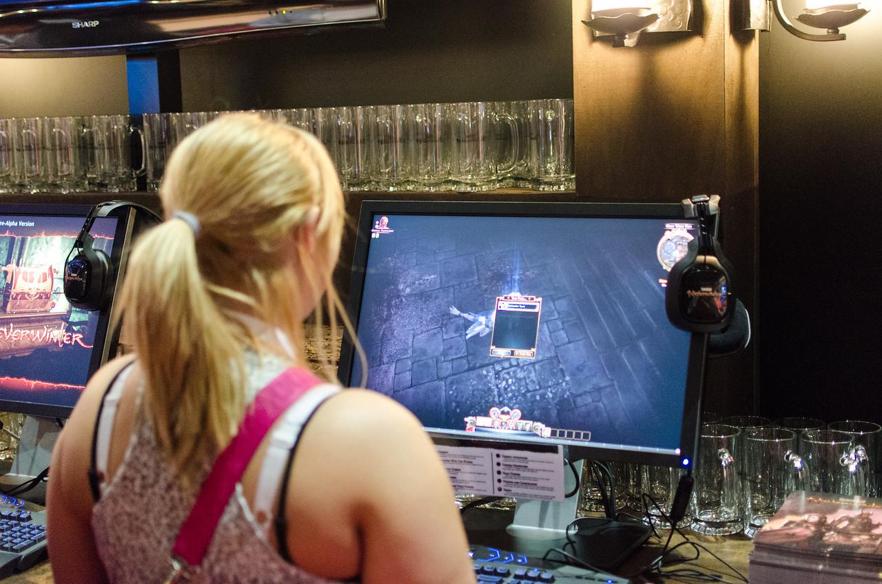 Gamer at E3 2012