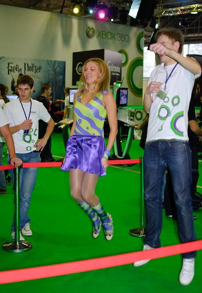 Kinect at Igromir 2010
