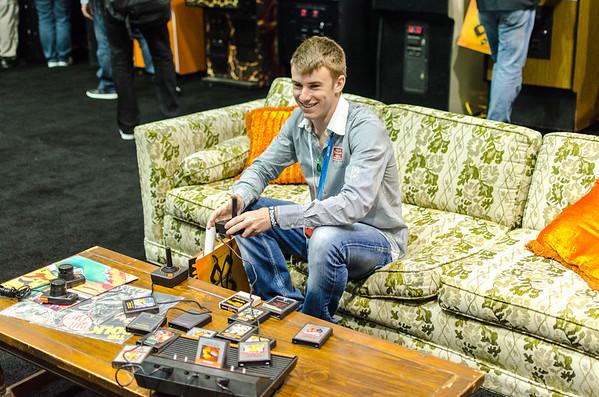 Retro gamer at E3 2012