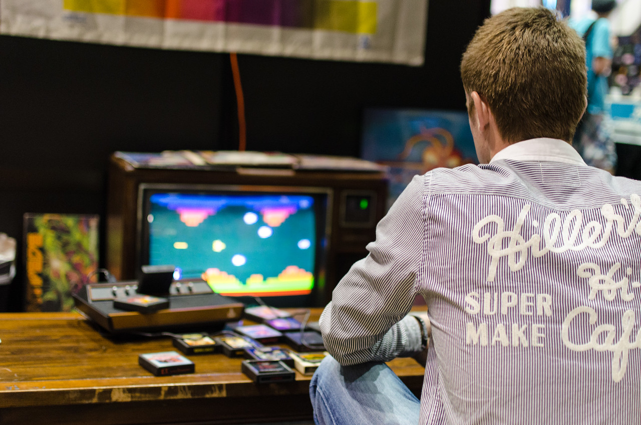 Retro gaming at E3 2012