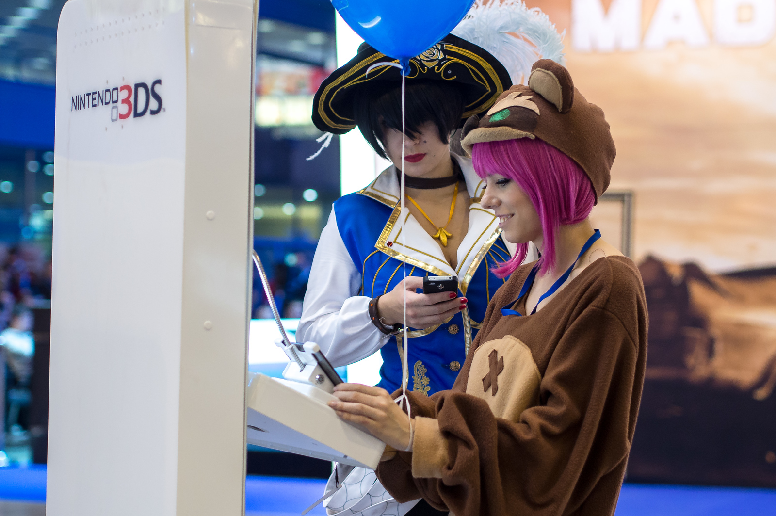 Russian gamers at Igromir 2013
