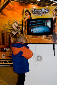 Saints Row 2 on Igromir 2008