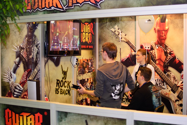 Guitar Hero: Warriors of Rock at Igromir 2010