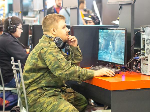 Gamer at Igromir 2013