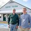 Paul and John Gove at Gove Farm in Leominster. SENTINEL & ENTERPRISE / Ashley Green