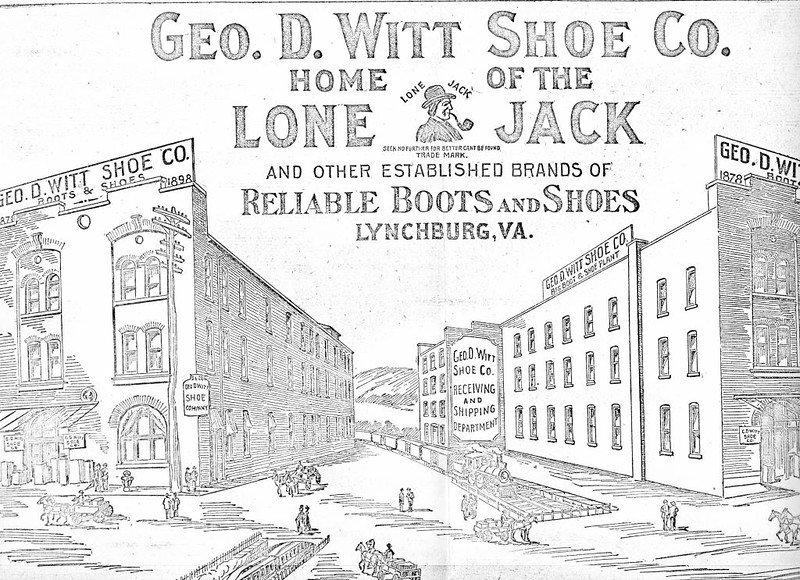 Advertisement for George D. Witt Shoe Company (4131)