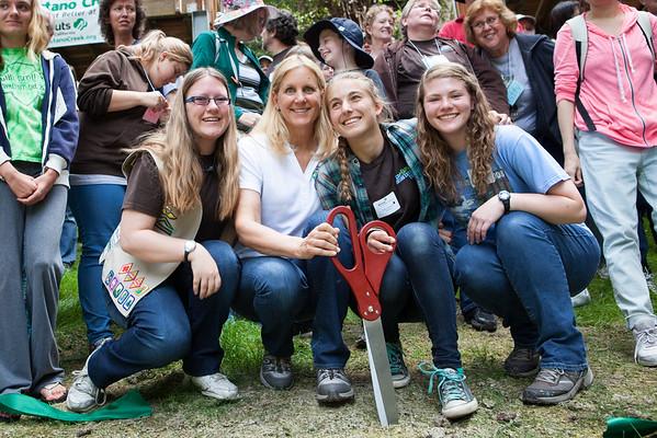 Girl Scouts Butano Dedication 6.20.15