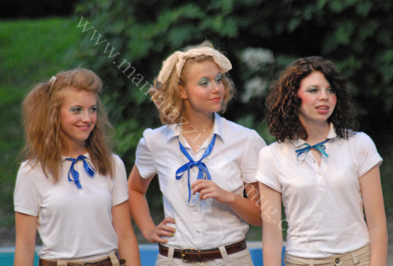Brittany - Sydney - Sara<br /> Production Shots<br /> June 2009<br /> Back to the Eighties<br /> Totally Awesome Musical
