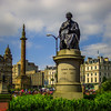 George Square, Glasgow, Scotland Nineteenth-century Scottish chemist Thomas Graham.