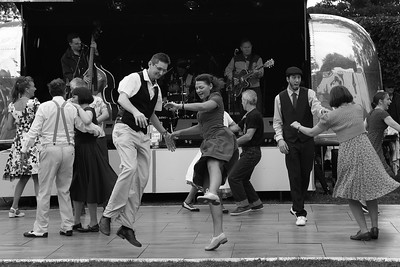 Rock and Roll Hop Dance - Goodwood Revival 2015