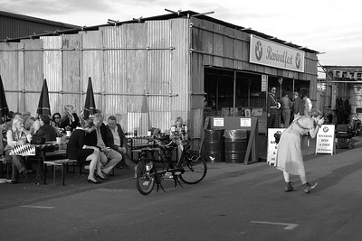 BMW Revivalfest scene at the Goodwood Revival 2016