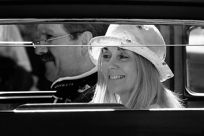 Waiting in the queue - Goodwood Festival of Speed 2015