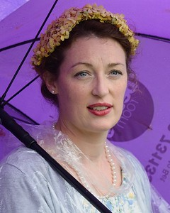 Under the Purple Brolly at the Goodwood Revival 2016