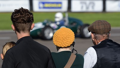 Watching the Action - The Goodwood Revival 2017