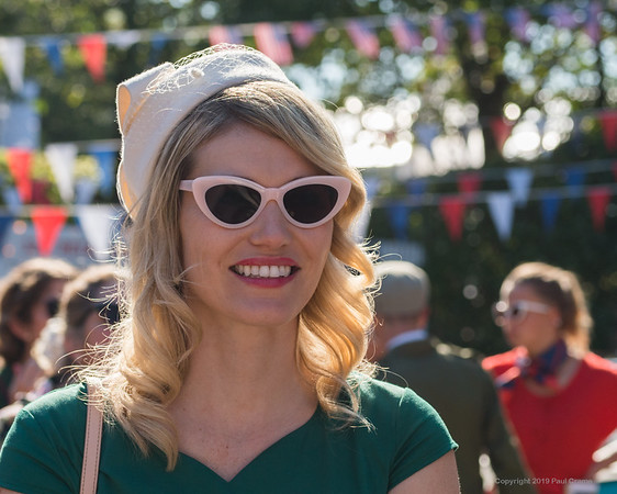Goodwood Old Control Tower Girl - Goodwood Revival 2019