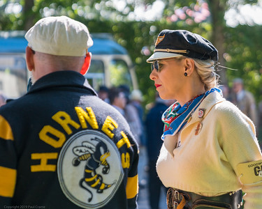 Lady Hornet - Goodwood Revival 2019