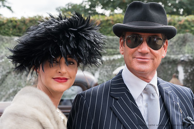 Dapper Couple - The Goodwood Revival 2018