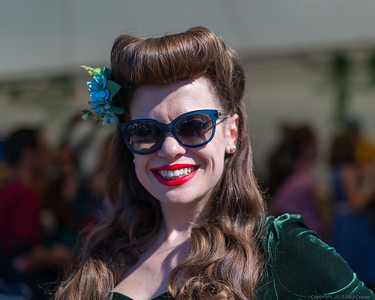 Modelled in Green - Goodwood Revival 2019
