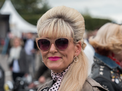 Bikers Girl - The Goodwood Revival 2018