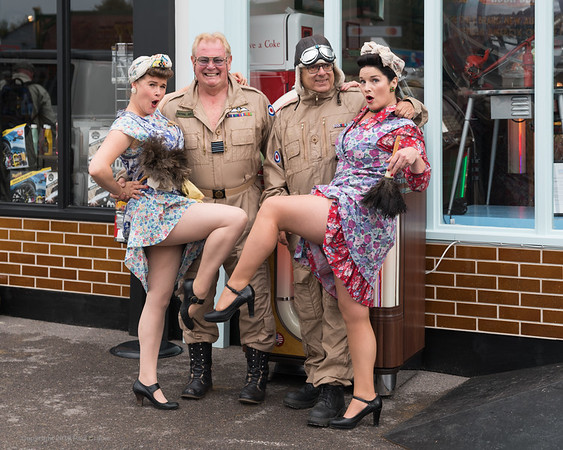 The Cleaning Ladies - Goodwood Revival 2019