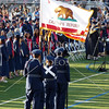 Junior ROTC with the colors during the Citrus Hill High School 2013 commencement in Perris, California.
