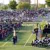 Graduating students waiting during the Citrus Hill High School 2013 commencement in Perris, California.