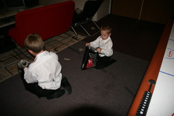 Little Men's dressing room