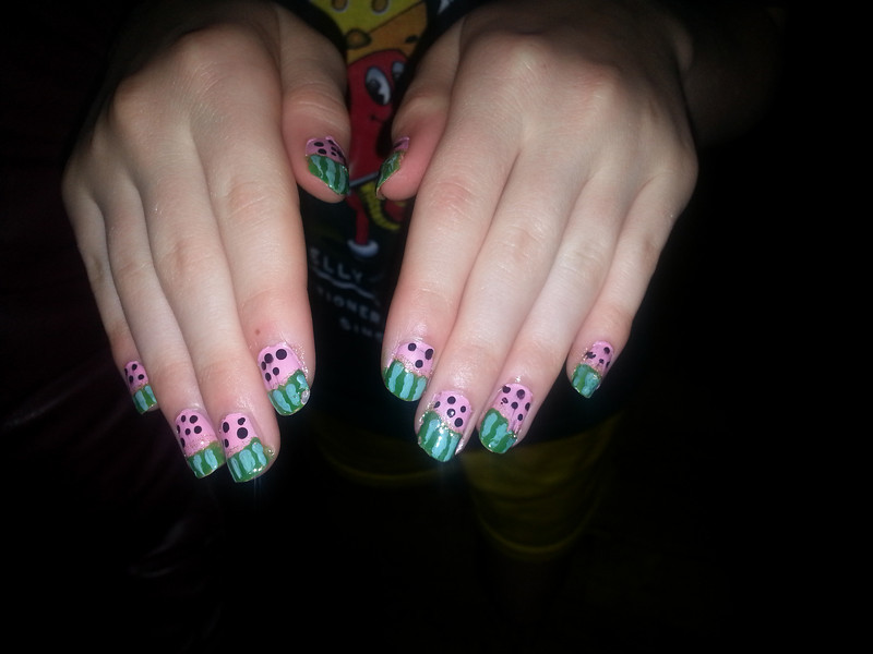 StormyWatermelonNails