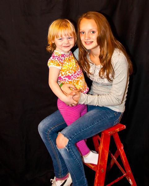 Mikaylah and Amelia