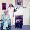 The last anniversary picture of my paternal grandparents Frank and Helen.  Frank and Helen were married on February 14, Valentine's Day, and I have numerous snapshots of them celebrating their anniversary over the years. This is the last shot I've found. Not long after this picture was taken Frank was diagnosed with lung cancer. Though he quit smoking more than fifteen years ago the damage had already been done.  He died late next year.