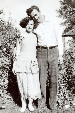 Hazel and Gert around the time they were married in 1931.