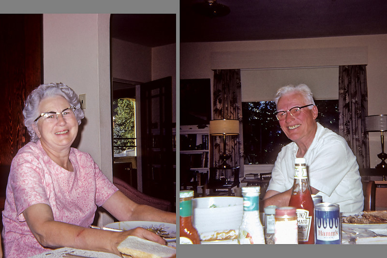 My paternal grandparents Livingston Montana 1967.