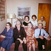 Frank and Helen's 40th wedding anniversary: February 14, 1962. The people in this old snapshot have long since died. I remember some of them. They were all good friends and neighbors of my grandparents. Starting on the lower left side of the front row we have Wynn, Frank, Helen, Ig and in the back Ruth, Lois and Martin.