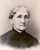 "Julia Ann Weber Rock 1829-1906 was one of my great-great-grandmothers. Quoting from Leone Johns' genealogy, ""She was born in Darmstadt, Germany in 1829 and died in Glendive Montana on April 3, 1906.  She came to Derby in 1854 where she married Norma Nelson Rock. She came to Glendive in 1882 with her daughter, Mary, and son, Joseph."" There is no date on the photograph I have which is a copy of the original, but I would guess Julia was around sixty-five when this photograph was taken giving an approximate date of 1894."