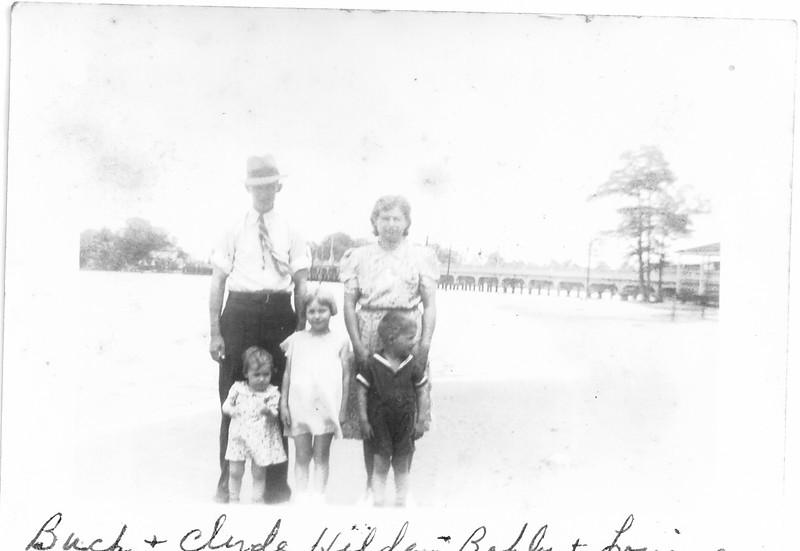 Hatcher Buck Clyde Louise Hilda Bobby