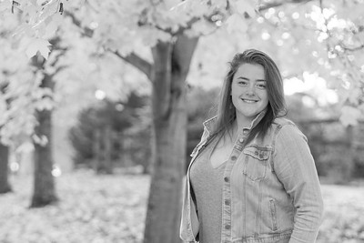curbow photo - Callie HS Senior BW-1