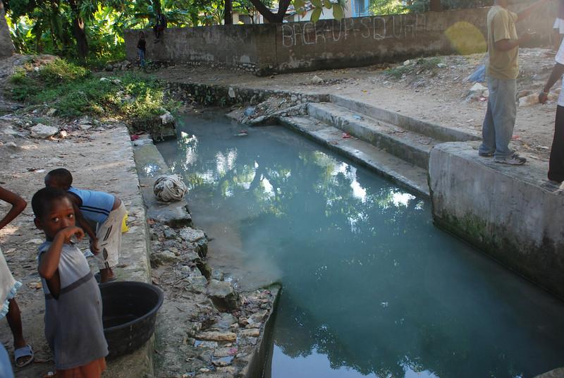 Water source at Source Matlas.