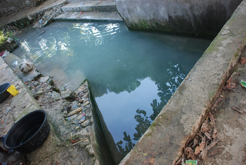 Water source (bathing) at Source Matlas.