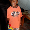 Michael in his new outfit, provided by a family in our church small group.