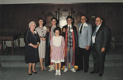 Hall Family, 1980s