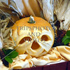 Carved pumpkin for Halloween celebration on board a cruise ship while at sea.