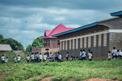 Back to school. Congo Democratic Republic.