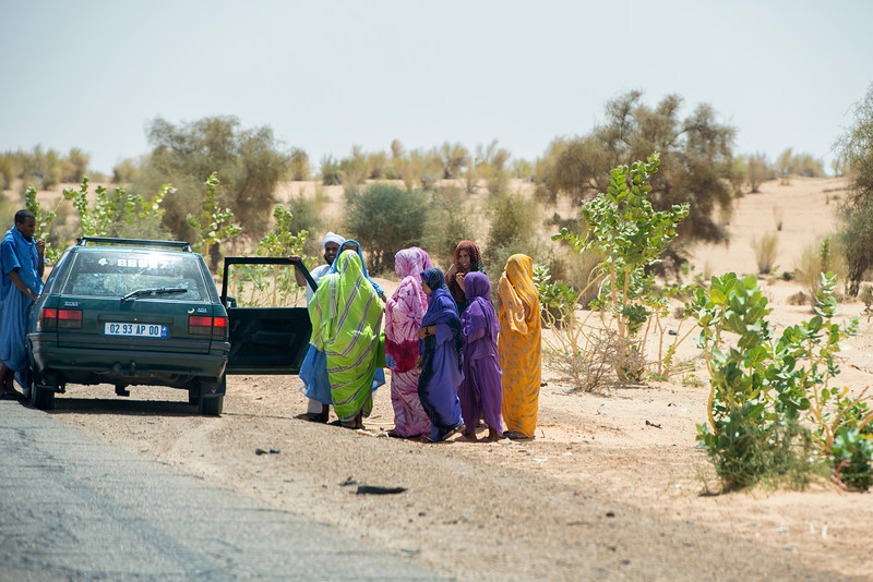 Place for everyone. Mauritania.