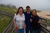 Cheryl, Me and Roe down at Lake Michigan.