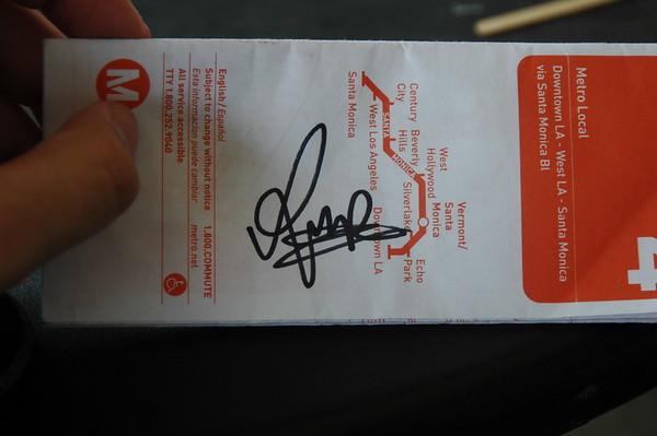 Rupert Grint autograph