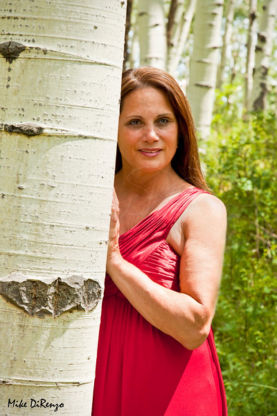 Lady in the Aspens  Colorado Keebler Pass