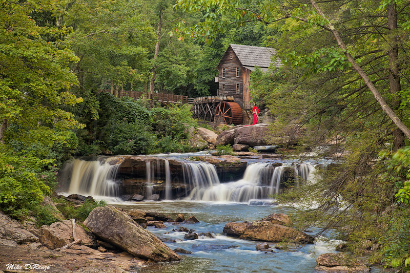 Glade Creek Grist Mill  6148 w32
