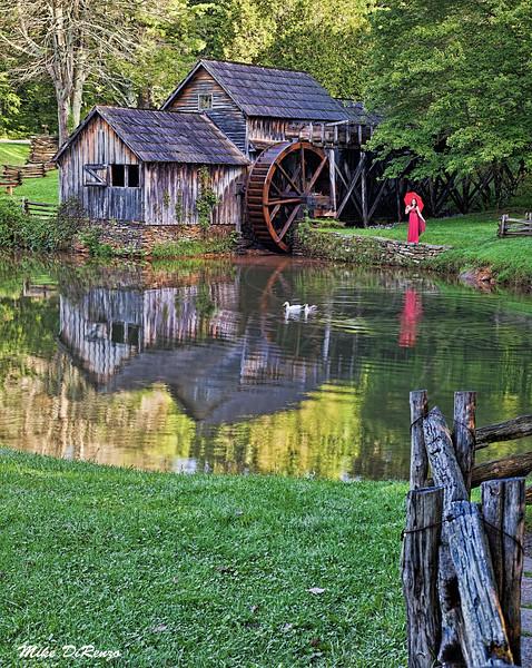 Mabry Mill Reflections 6551 w32